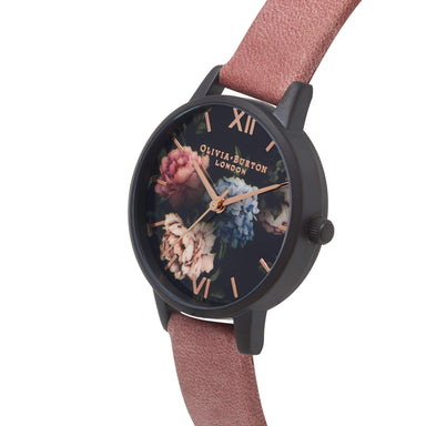 Olivia Burton After Dark ROSE SUEDE 30mm Women's Watch-Cocomi Malaysia