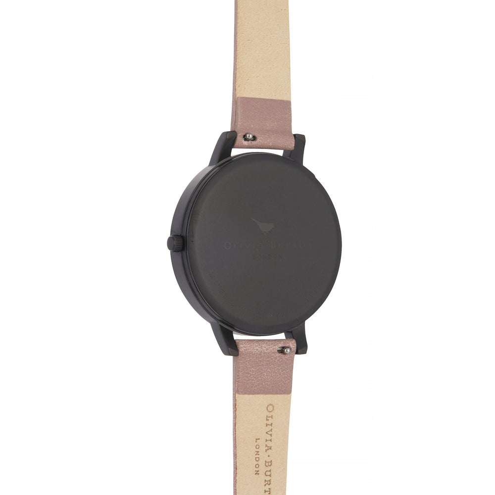 Olivia Burton After Dark Rose Suede Women's Watch (OB16AD38)-Cocomi Malaysia