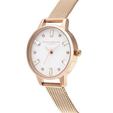 Olivia Burton Bejewelled Rose Gold Women's Watch (Ob16Bj02)-Cocomi Malaysia