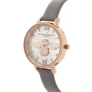Olivia Burton Celestial LONDON GREY Women's Watch (OB16GD06)-Cocomi Malaysia