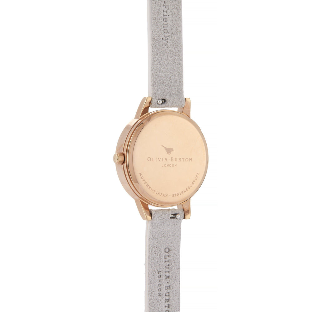 Olivia Burton Eco Friendly Grey Lilac Women's Watch (Ob16Ve14)-Cocomi Malaysia