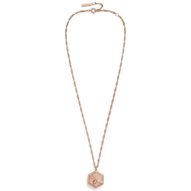 Olivia Burton Lucky Bee 18K Rose Gold Women's Necklace (OBJAMN83)-Cocomi Malaysia