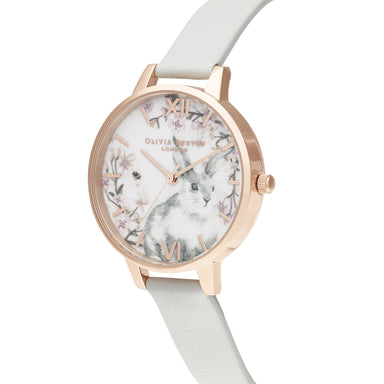 Olivia Burton Pretty Blossom Grey Women's Watch (Ob16Wl72)-Cocomi Malaysia