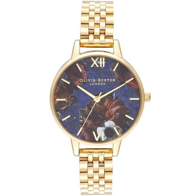 Olivia Burton Semi Precious GOLD Women's Watch (OB16SP13)-Cocomi Malaysia