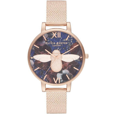 Olivia Burton Semi Precious ROSE GOLD Women's Watch (OB16SP11)-Cocomi Malaysia