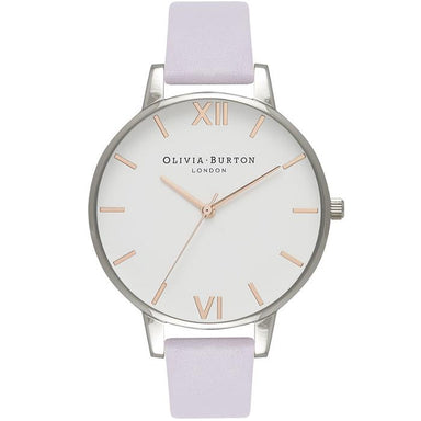 Olivia Burton White Dial Cow Hide Women's Watch (Ob16Bdw37)-Cocomi Malaysia