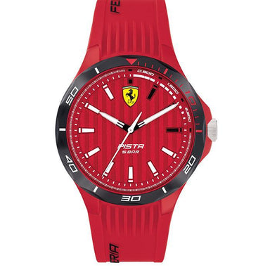 Scuderia Ferrari Pista Red Men's Watch (830781)-Cocomi Malaysia
