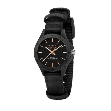 Sector Save The Ocean Black Sunray Men's Watch (R3251539501)-Cocomi Malaysia