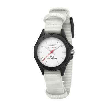 Sector Save The Ocean White Matt Men's Watch (R3251539503)-Cocomi Malaysia