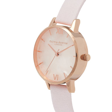 Semi Precious Rose-Quartz 30 mm Women's Watch-Cocomi Malaysia