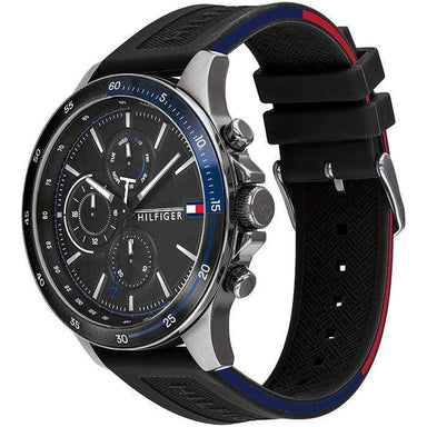Tommy Hilfiger Black Men's Watch (1791724)-Cocomi Malaysia