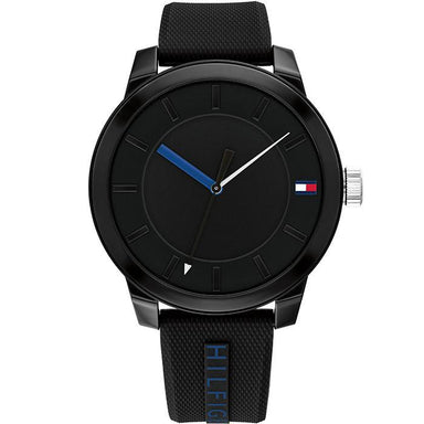 Tommy Hilfiger Black Men's Watch (1791744)-Cocomi Malaysia
