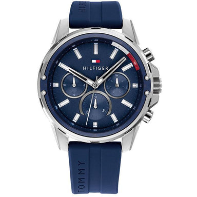 Tommy Hilfiger Blue Men's Watch (1791791)-Cocomi Malaysia