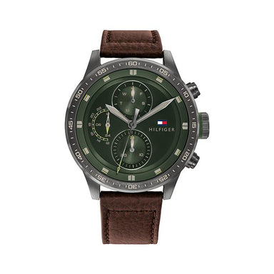 Tommy Hilfiger Green Sunray Men's Watch (1791809)-Cocomi Malaysia