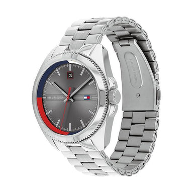 Tommy Hilfiger Grey Men's Watch (1791684)-Cocomi Malaysia