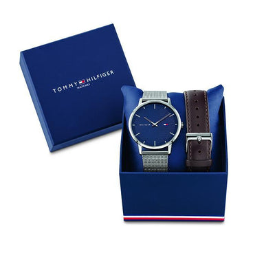 Tommy Hilfiger Navy Men's Watch (1791668)-Cocomi Malaysia