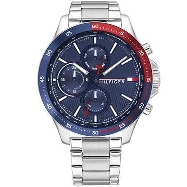 Tommy Hilfiger Bank Navy Men's Watch (1791718)-COCOMI