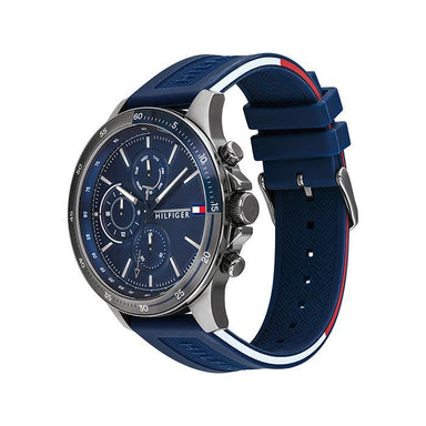 Tommy Hilfiger Navy Men's Watch (1791721)-Cocomi Malaysia