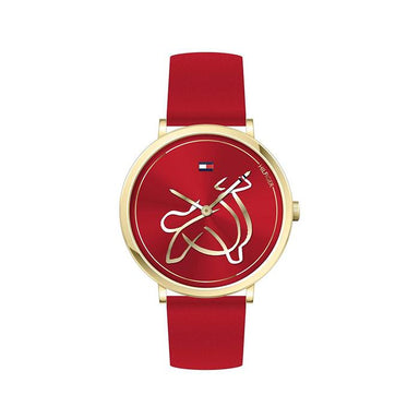 Tommy Hilfiger Red Women's Watch (1720012)-Cocomi Malaysia