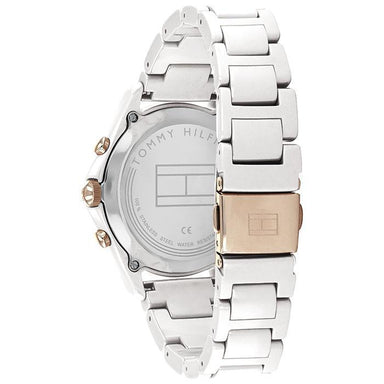 Tommy Hilfiger Silver White Women's Watch (1782262)-Cocomi Malaysia