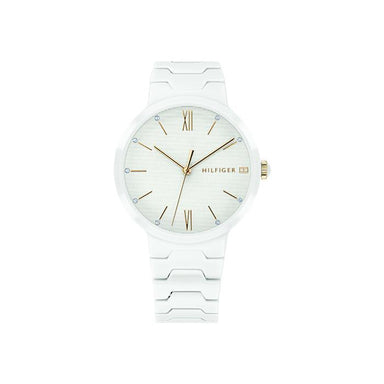 Tommy Hilfiger White Women's Watch (1781956)-Cocomi Malaysia