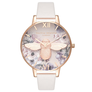 Watercolour Florals Floral/Bee 38 mm Women's Watch-Cocomi Malaysia