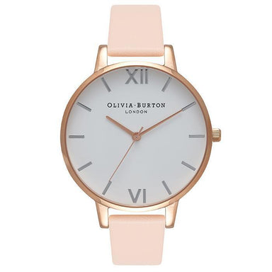 White Dial Rose-Gold 38 mm Women's Watch-Cocomi Malaysia