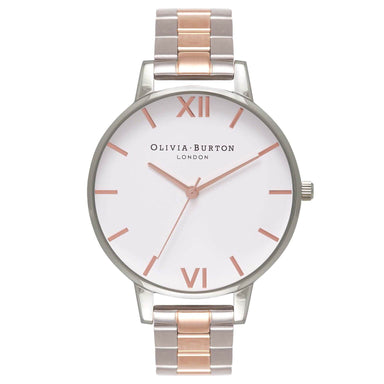 White Dial Silver 38 mm Women's Watch-Cocomi Malaysia