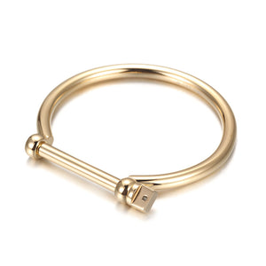 Screw Bangle Bracelets