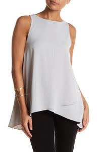 Light Grey Layered Top