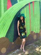 Load image into Gallery viewer, Jungle print sleeveless dress