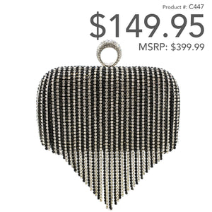 Ring Tassel Clutch