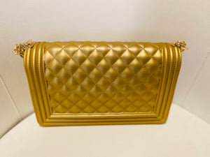 Gold Jelly Purse