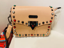 Load image into Gallery viewer, Pink Studded Purse