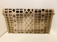 Load image into Gallery viewer, Pewter Geometrical clutch
