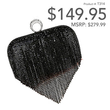 Load image into Gallery viewer, Ring Tassel Clutch