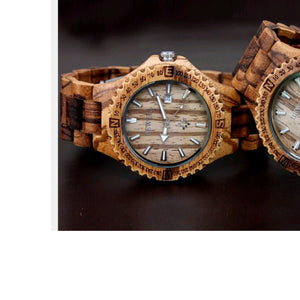 Unisex Wood Handrafted Watch
