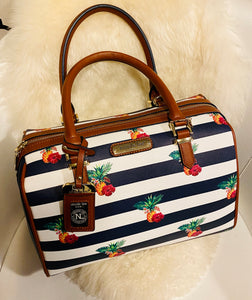 Pineapple Striped bag