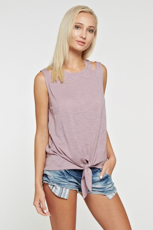 Cut Out Tank