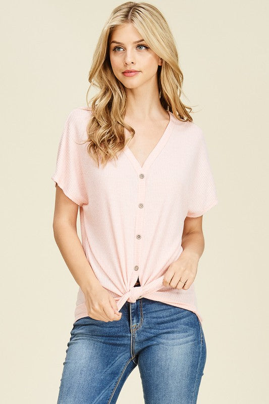 Dolman Knotted Top