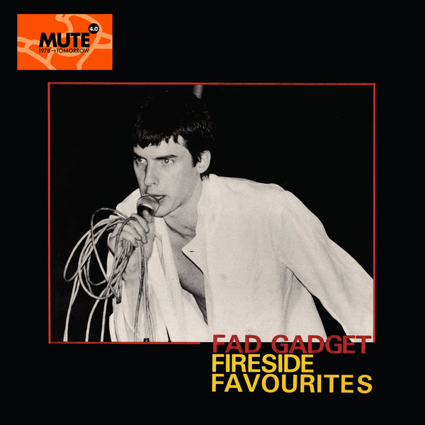 Fad Gadget - Fireside Favourites - Orange Vinyl