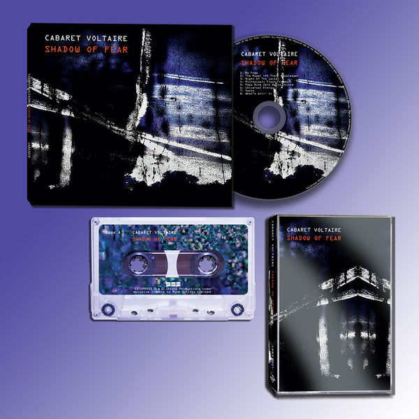 Cabaret Voltaire - Shadow Of Fear - CD + Cassette