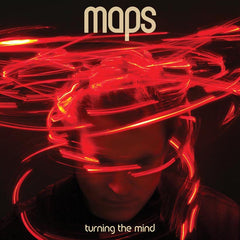 Maps - Turning The Mind - Orange Coloured Double Vinyl (Signed)