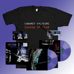 Cabaret Voltaire - Shadow Of Fear - CD + Purple Vinyl + Cassette + T-Shirt