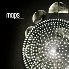 Maps - We Can Create - 70's style green glass double coloured vinyl