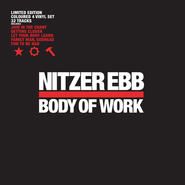 Nitzer Ebb - Body Of Work - Coloured 4 x Vinyl Set