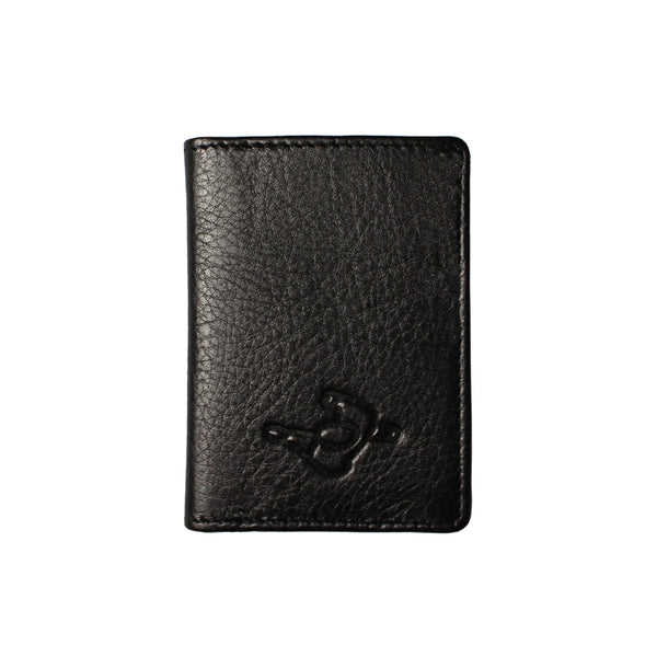 Mute Black Leather Wallet