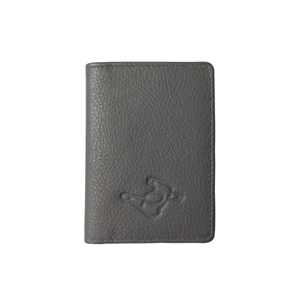 Mute Smoked Pearl Leather Wallet