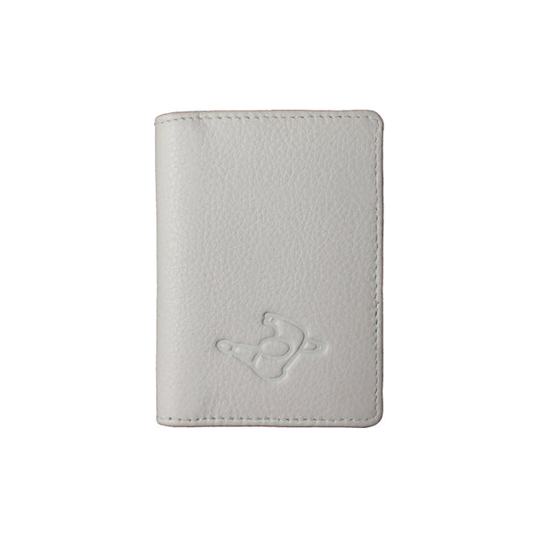Mute Ecru Leather Wallet