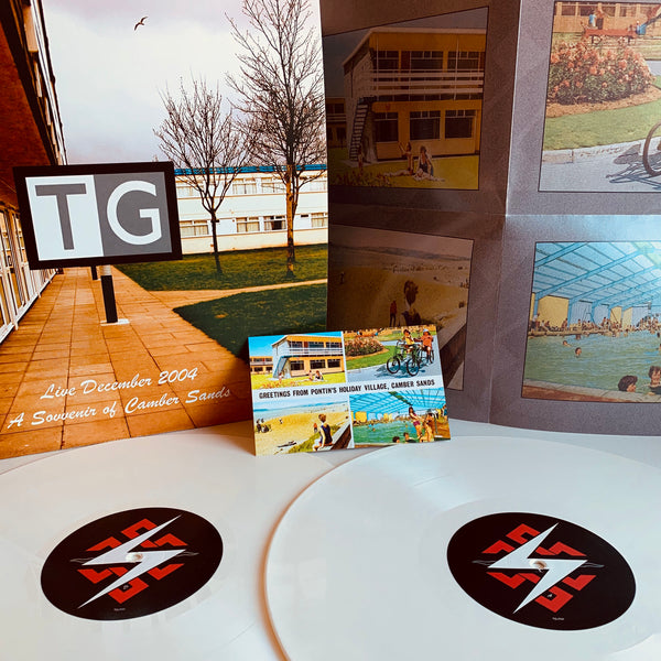 Throbbing Gristle - A Souvenir Of Camber Sands - Double White Vinyl
